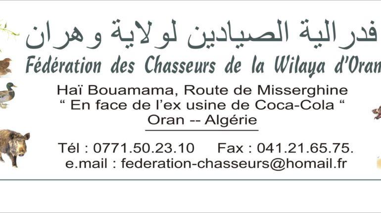 Fédération des Chasseurs d'Oran