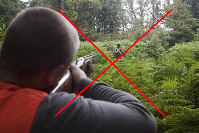 La sécurité à la chasse
